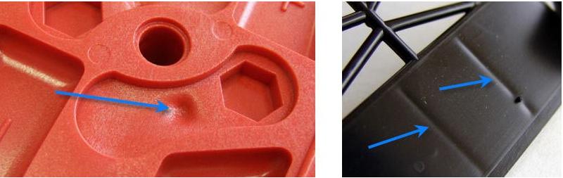 塑料注塑成型问题判定及解决办法系列--缩水问题